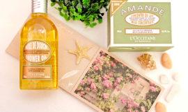 L`Occitane – Масло для душа Миндальное и молочко для упругости кожи тела Миндальное. Отзыв
