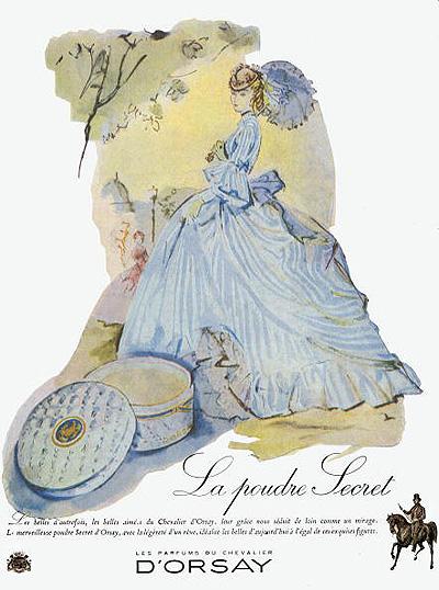 Пудра: история возникновения и винтажные пудреницы