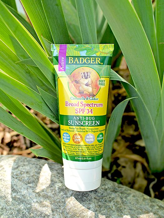 Защита от солнца: Badger Company, Anti-Bug Sunscreen, Broad Spectrum SPF 34. Отзыв