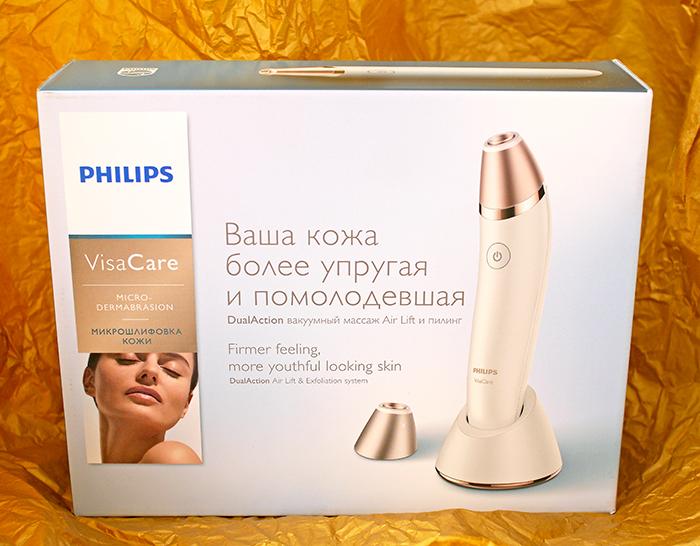 Прибор для микродермабразии Philips VisaCare. Отзыв