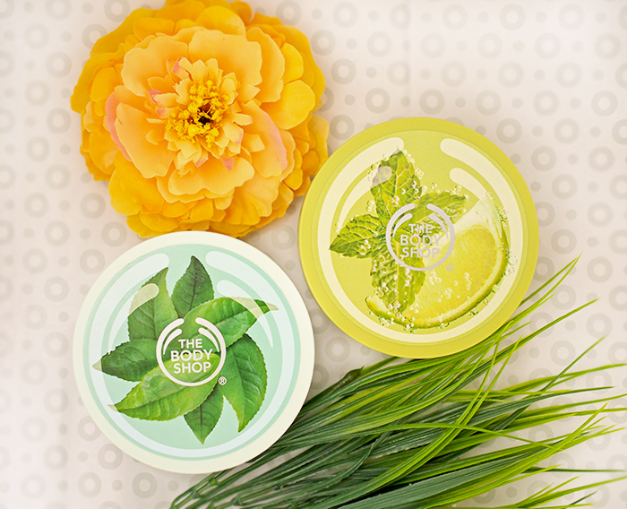 The Body Shop – масло для тела Мохито, масло для тела Зеленый чай. Отзыв