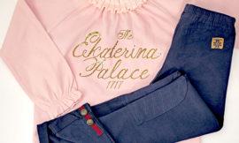 Детская одежда Faberlic: блузка и леггинсы для девочки. Отзыв