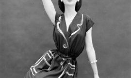 Веселая мода прошлого: раскрашенные платья от Hermes