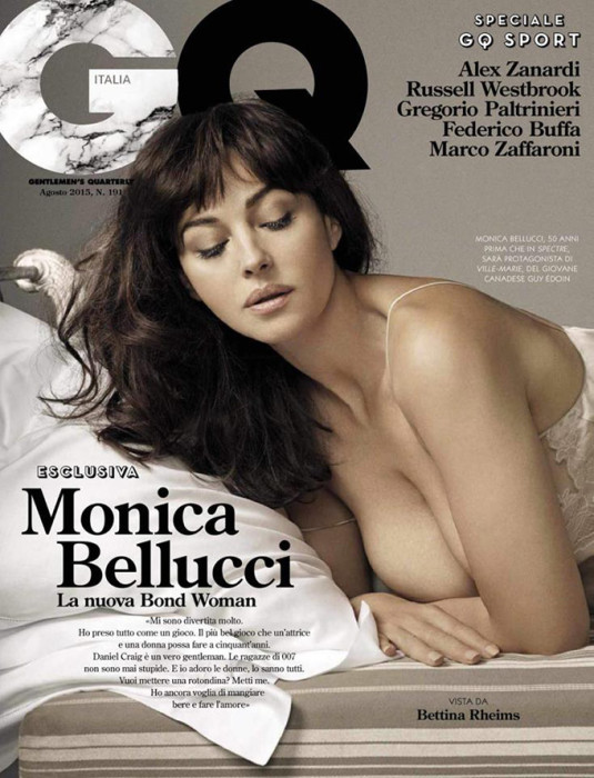 Самыми интересными подборками на неделе мне показались – внезапно красивая Ким Кардашьян без макияжа в Vogue Spain,все такая же прекрасная и страстная Моника Беллуччи в GQ и женственная Андреа Пежич в Dazed Magazine.