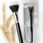 E.L.F. Cosmetics, Studio, Stipple Brush vs MAC Duo Fibre Brush 187: сравнение, отзыв