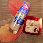 Тональный крем Maybelline Super Stay Better Skin и пудра Rimmel Lasting Finish 25H Powder Foundation. Отзыв
