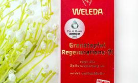 Weleda Pomegranate Regenerating Body Oil — Гранатовое восстанавливающее масло для тела. Отзыв