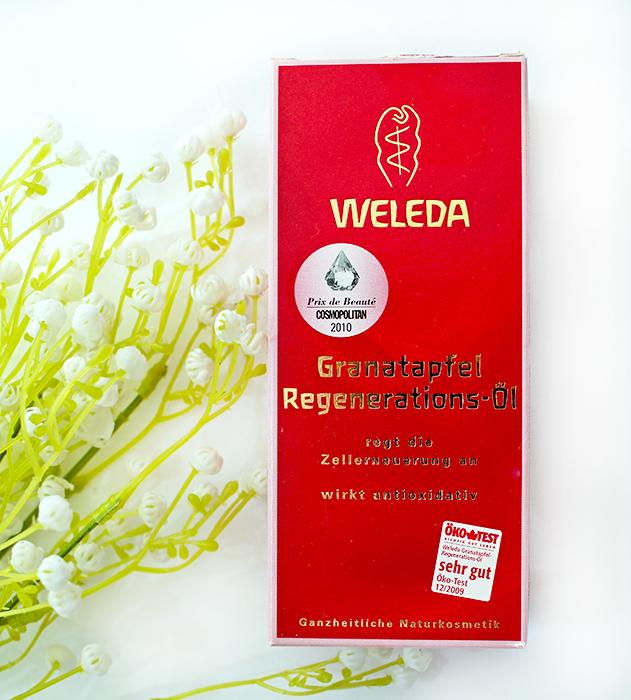 Weleda Pomegranate Regenerating Body Oil - Гранатовое восстанавливающее масло для тела. Отзыв