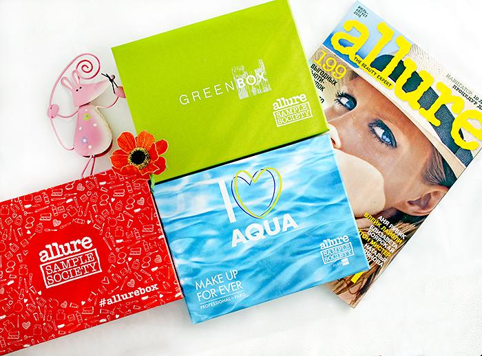 Allurebox #7, Make Up Forever Box, GreenBox. Отзыв
