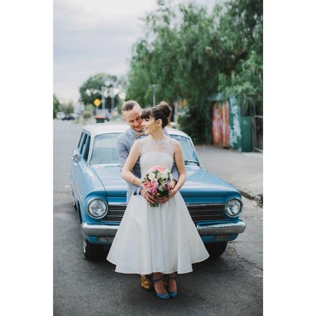 Короткие свадебные платья: много фото