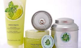 The Body Shop: скраб и сорбет для тела Мохито, чай для ванны Зеленый чай. Отзыв