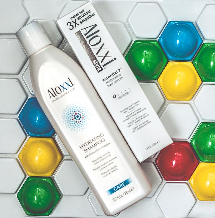 Aloxxi Hydrating Shampoo, Restorative Hair Serum. Отзыв