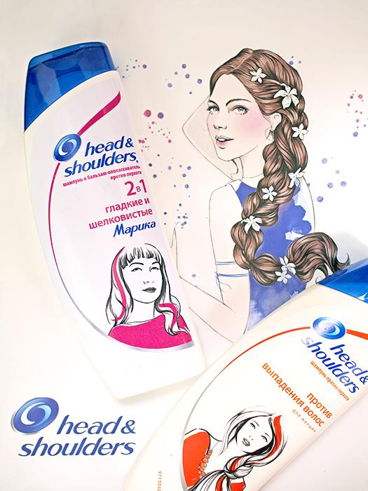 Head & Shoulders: Шампуни Против выпадения волос и 2 в 1 Гладкие и шелковистые. Отзыв