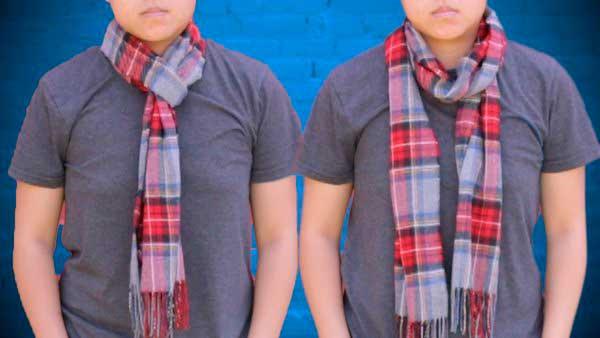 Как завязать шарф: самые простые способы