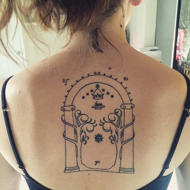 Татуировки, вдохновленные известными фильмами: много фото