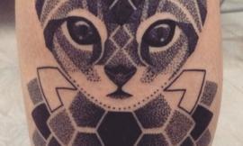 Татуировки с котами, которые понравятся всем