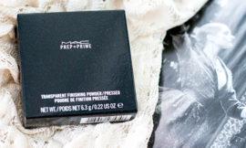MAC Prep + Prime Transparent Finishing Powder Pressed – прозрачная компактная пудра. Отзыв