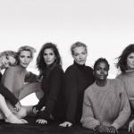 Величайшие супермодели в фотосессии Vogue Italia