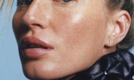 Какой еще бывает ретушь в глянце: почти естественное лицо Жизель Бундхен