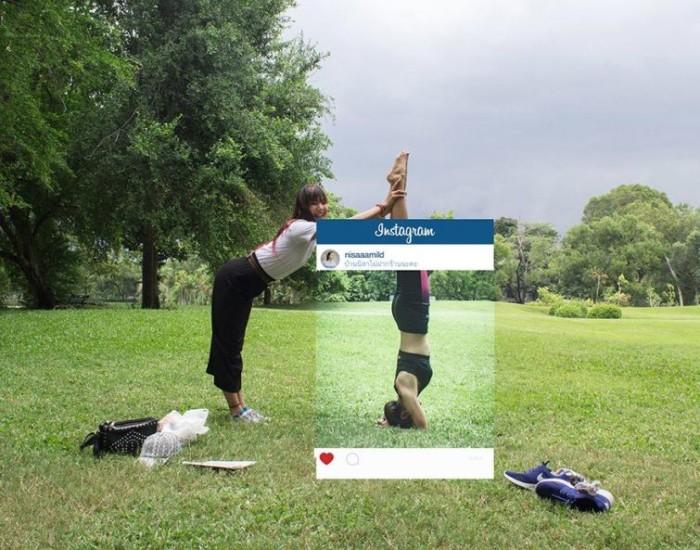 Инстаграм и реальность: стоит ли доверять соцсетям?)