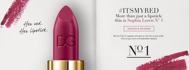 81-летняя Софи Лорен в рекламе помады Dolce&Gabbana