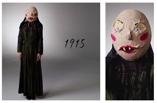 Как менялись костюмы на Хэллоуин за последние 100 лет: от жути к веселью