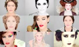 Как менялись тренды макияжа в истории