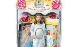Безумные бьюти-продукты: набор косметики с Иисусом