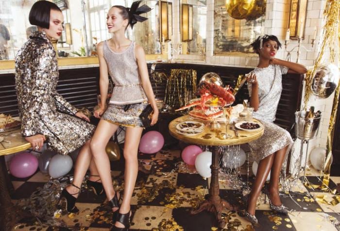 Образ и макияж на Новый год: идеи и варианты