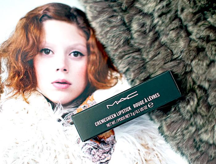 Помада MAC Cremesheen Lipstick — Crosswires. Отзыв, свотчи