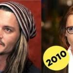 Как с возрастом менялась внешность знаменитостей