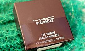 MAC Uninhibited Mineralize Eyeshadow Duo — двойные минеральные тени. Отзыв, свотчи