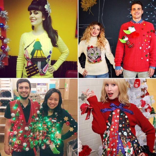 Уродливые рождественские свитера как зависимость