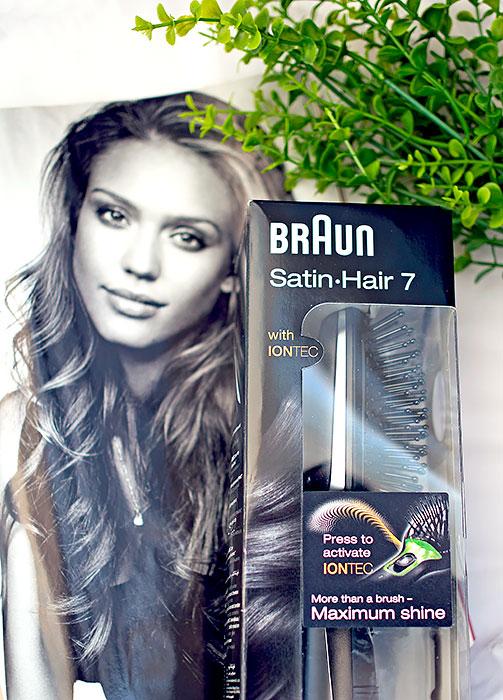 Расческа с ионизацией Braun Satin Hair 7. Отзыв