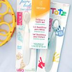 Детская зубная паста Weleda и детские зубные щетки Radius. Отзыв