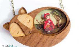 Вдохновение: деревянные ожерелья с сюжетами из сказок