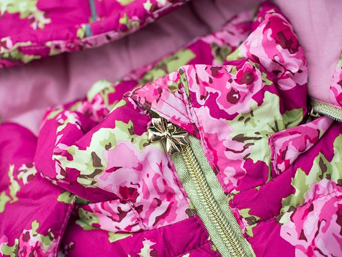 Faberlic - Куртка удлиненная для девочки, цвет цикламен. Отзыв