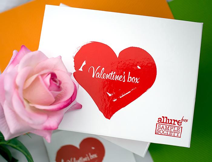 Allurebox - Февраль, а также лимитированный Valentine`s Box. Отзыв