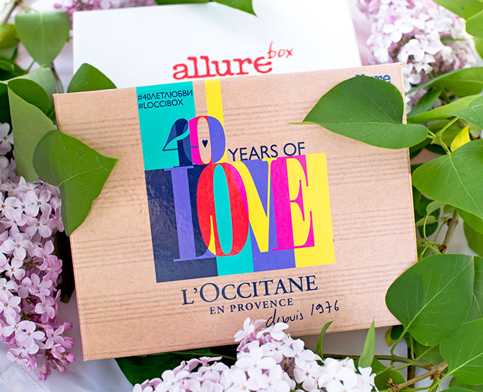 Allurebox апрель, L`Occitanebox. Отзыв