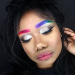 Rainbrows: радужные брови – новый тренд в макияже