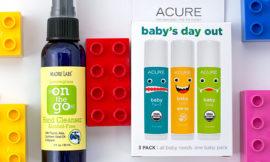Набор Acure Organics, Baby's Day Out Kit и очищающее средство для рук Madre Labs. Отзыв