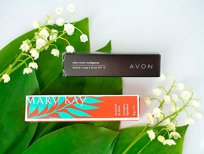 Розовый или фуксия: помады Mary Kay Lip Shine и Avon Ultra Color. Отзыв, сравнение