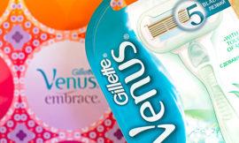 Бритва Gillette Venus Embrace Sensitive. Отзыв