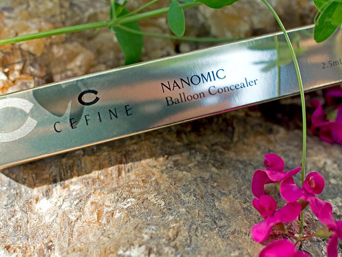 Cefine - омолаживающий консилер Nanomic Balloon Concealer. Отзыв
