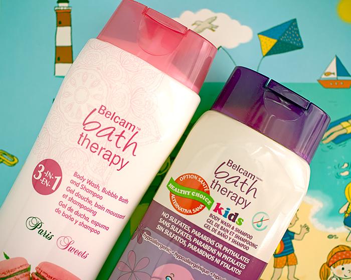 Bath Therapy: средство три-в-одном Paris Sweets и два-в-одном для детей Kids. Отзыв