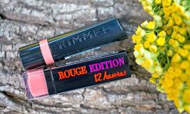 Такой разный нюд: помады Bourjois Rouge Edition 12H – 31, Rimmel – The Only 1 – 700 Naughty Nude. Отзыв, сравнение