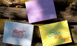 Allurebox 7 июнь, Sunbox, Mom & Baby Box. Отзыв