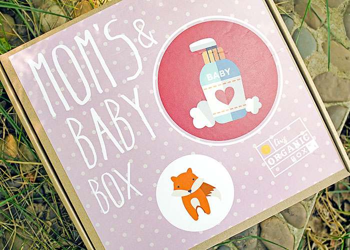 Live Organic Box - Mom's and Baby Box. Отзыв
