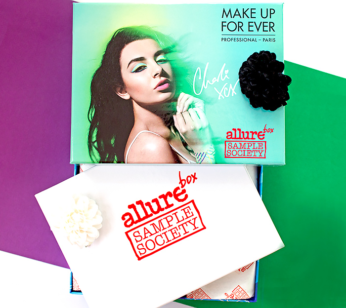 Allurebox – июль, Make Up Forever Box. Отзыв