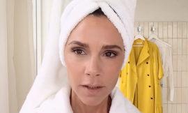 Урок макияжа от Виктории Бекхэм: видео